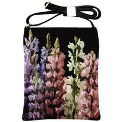 Flowers Shoulder Sling Bags by Valentinaart
