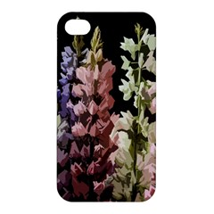 Flowers Apple Iphone 4/4s Premium Hardshell Case by Valentinaart