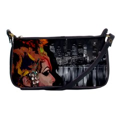 Transvestite Shoulder Clutch Bags by Valentinaart