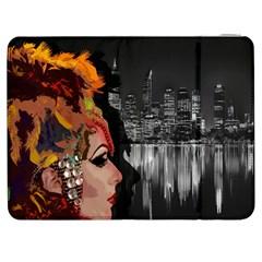 Transvestite Samsung Galaxy Tab 7  P1000 Flip Case by Valentinaart