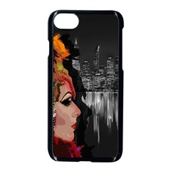 Transvestite Apple Iphone 7 Seamless Case (black) by Valentinaart