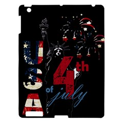 4th Of July Independence Day Apple Ipad 3/4 Hardshell Case by Valentinaart