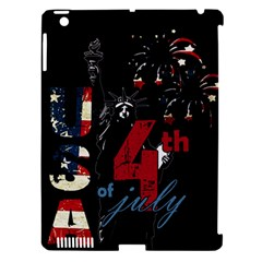 4th Of July Independence Day Apple Ipad 3/4 Hardshell Case (compatible With Smart Cover) by Valentinaart