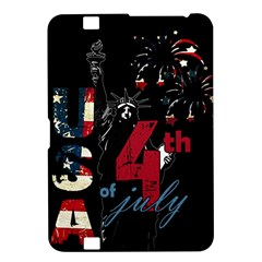 4th Of July Independence Day Kindle Fire Hd 8 9  by Valentinaart