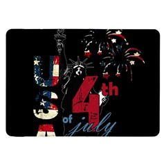 4th Of July Independence Day Samsung Galaxy Tab 8 9  P7300 Flip Case by Valentinaart