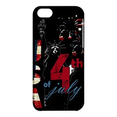 4th Of July Independence Day Apple Iphone 5c Hardshell Case by Valentinaart