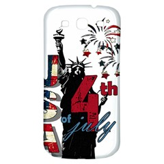 4th Of July Independence Day Samsung Galaxy S3 S Iii Classic Hardshell Back Case by Valentinaart