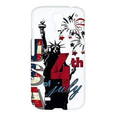 4th Of July Independence Day Samsung Galaxy S4 I9500/i9505 Hardshell Case by Valentinaart