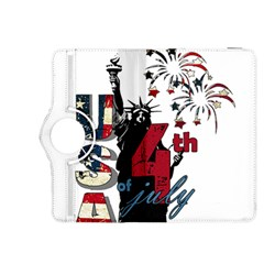 4th Of July Independence Day Kindle Fire Hdx 8 9  Flip 360 Case by Valentinaart
