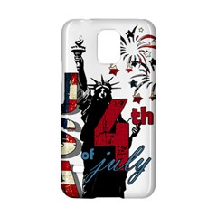 4th Of July Independence Day Samsung Galaxy S5 Hardshell Case  by Valentinaart