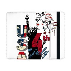 4th Of July Independence Day Samsung Galaxy Tab Pro 8 4  Flip Case by Valentinaart