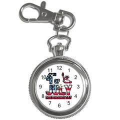 4th Of July Independence Day Key Chain Watches by Valentinaart