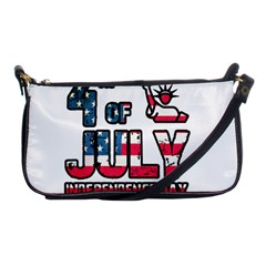 4th Of July Independence Day Shoulder Clutch Bags by Valentinaart