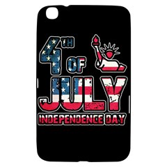4th Of July Independence Day Samsung Galaxy Tab 3 (8 ) T3100 Hardshell Case  by Valentinaart