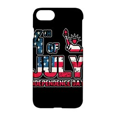 4th Of July Independence Day Apple Iphone 7 Hardshell Case by Valentinaart