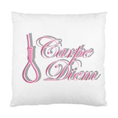 Carpe Diem  Standard Cushion Case (one Side) by Valentinaart