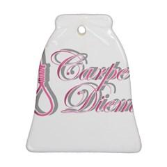 Carpe Diem  Ornament (bell) by Valentinaart