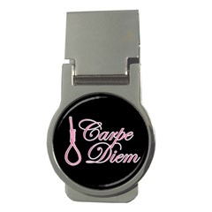 Carpe Diem  Money Clips (round)  by Valentinaart