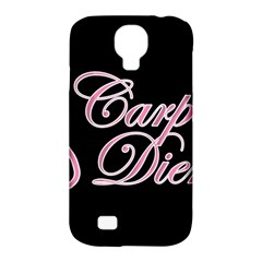 Carpe Diem  Samsung Galaxy S4 Classic Hardshell Case (pc+silicone) by Valentinaart