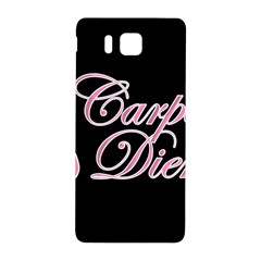 Carpe Diem  Samsung Galaxy Alpha Hardshell Back Case by Valentinaart