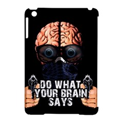 Do What Your Brain Says Apple Ipad Mini Hardshell Case (compatible With Smart Cover) by Valentinaart