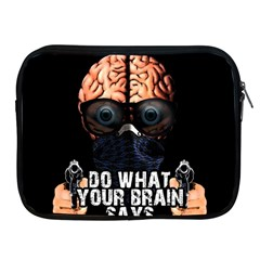 Do What Your Brain Says Apple Ipad 2/3/4 Zipper Cases by Valentinaart