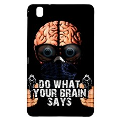 Do What Your Brain Says Samsung Galaxy Tab Pro 8 4 Hardshell Case by Valentinaart