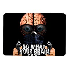 Do What Your Brain Says Samsung Galaxy Tab Pro 10 1  Flip Case by Valentinaart