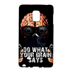 Do What Your Brain Says Galaxy Note Edge by Valentinaart