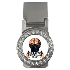 Do What Your Brain Says Money Clips (cz)  by Valentinaart