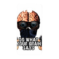 Do What Your Brain Says Samsung Galaxy Alpha Hardshell Back Case by Valentinaart