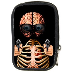Do What Your Brain Says Compact Camera Cases by Valentinaart