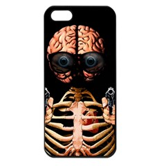 Do What Your Brain Says Apple Iphone 5 Seamless Case (black) by Valentinaart
