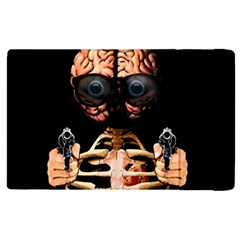 Do What Your Brain Says Apple Ipad 3/4 Flip Case by Valentinaart