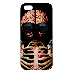 Do What Your Brain Says Iphone 5s/ Se Premium Hardshell Case by Valentinaart