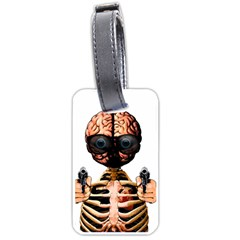 Do What Your Brain Says Luggage Tags (two Sides) by Valentinaart