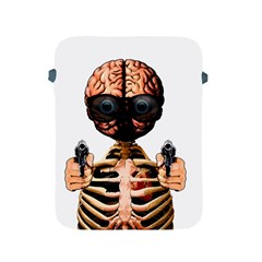 Do What Your Brain Says Apple Ipad 2/3/4 Protective Soft Cases by Valentinaart