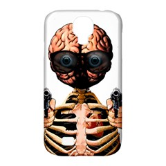 Do What Your Brain Says Samsung Galaxy S4 Classic Hardshell Case (pc+silicone) by Valentinaart