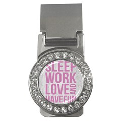 Grunge Style Motivational Quote Poster Money Clips (cz)  by dflcprints