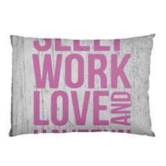 Grunge Style Motivational Quote Poster Pillow Case by dflcprints
