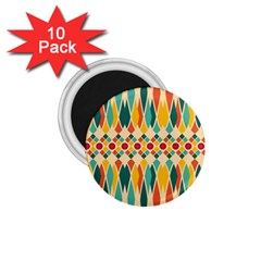 Festive Pattern 1 75  Magnets (10 Pack)  by linceazul