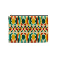Festive Pattern Cosmetic Bag (medium)  by linceazul