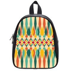 Festive Pattern School Bags (small)  by linceazul