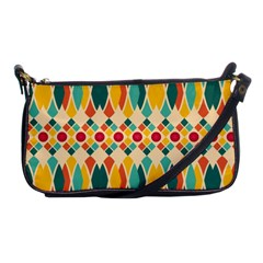 Festive Pattern Shoulder Clutch Bags by linceazul