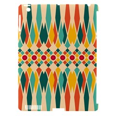 Festive Pattern Apple Ipad 3/4 Hardshell Case (compatible With Smart Cover) by linceazul