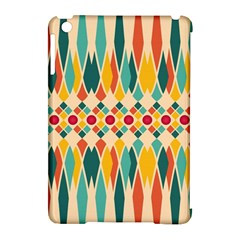 Festive Pattern Apple Ipad Mini Hardshell Case (compatible With Smart Cover) by linceazul