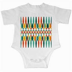 Festive Pattern Infant Creepers