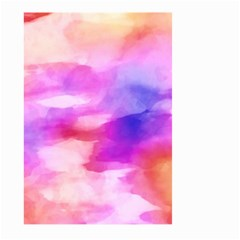 Colorful Abstract Pink And Purple Pattern Large Garden Flag (two Sides) by paulaoliveiradesign