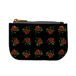Tattoo Roses Coin Change Purse Front