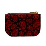 Sugar Skulls - Red Coin Change Purse Back